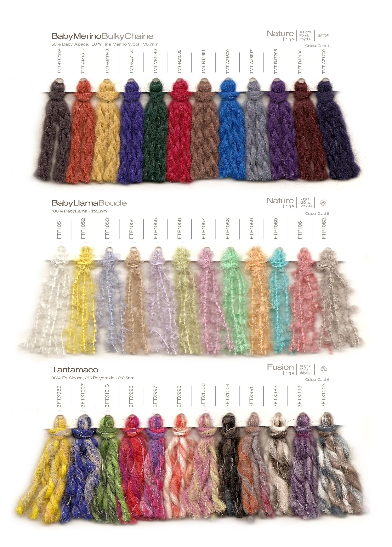 Hand Knitting Yarn : Alpaca hand knitting yarns colour trend aw